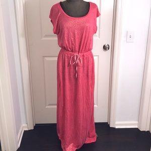 NWOT Tommy Hilfiger Glitter Jersey Maxi Dress
